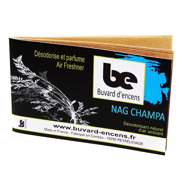 Buvard d'Encens Nag Champa 1 carnet