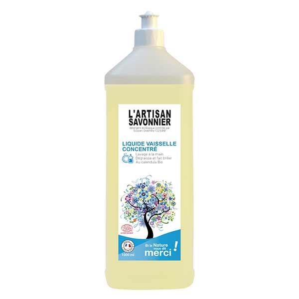 L'Artisan Savonnier Entretien Liquide Vaisselle Mains 1L