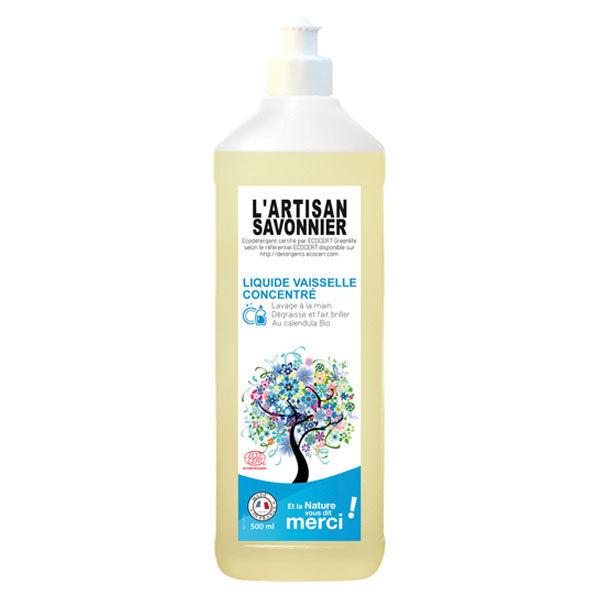 L'Artisan Savonnier Entretien L'Artisan Savonnier Liquide Vaisselle Mains 500ml