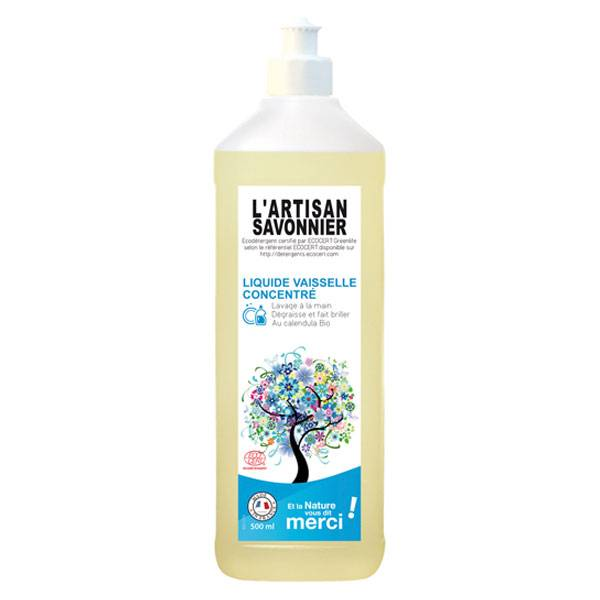 L'Artisan Savonnier Entretien Liquide Vaisselle Mains 500ml