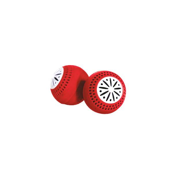 Boule Frigo Anti-Odeurs Rouge 2 unités