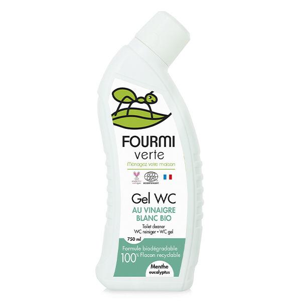 Fourmi Verte Gel WC Menthe et Eucalyptus Bio 750ml