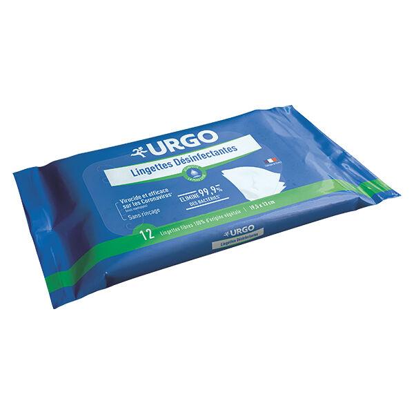 Urgo Premiers Soins Lingettes Désinfectantes 12 unités