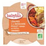 Babybio Menu du Jour Assiette Légumes à la Basquaise Poulet Riz dès 15... par LeGuide.com Publicité
