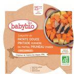 Babybio Menu du Jour Assiette Compotée Patate Douce Pintade Pruneau dès... par LeGuide.com Publicité