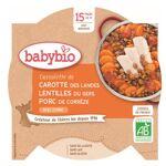 Babybio Menu du Jour Assiette Carotte Lentilles Porc dès 15 mois 260g... par LeGuide.com Publicité