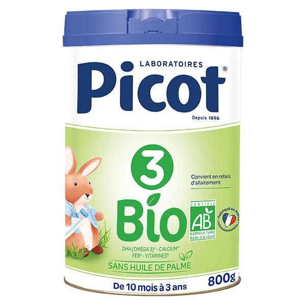 Picot Bio Lait Croissance 3ème Âge 800g