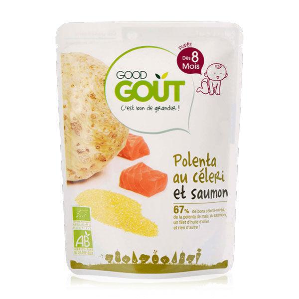Good Goût Plat Polenta au Céleri et Poisson +8m Bio 190g