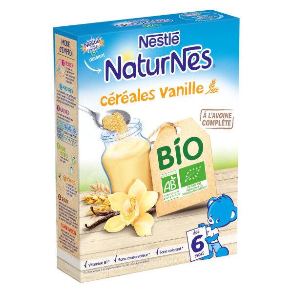 Nestlé Naturnes Céréales Vanille Bio 240g