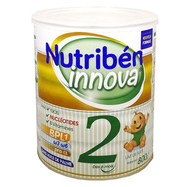 Nutriben Nutribén Innova Lait 2ème Age 800g