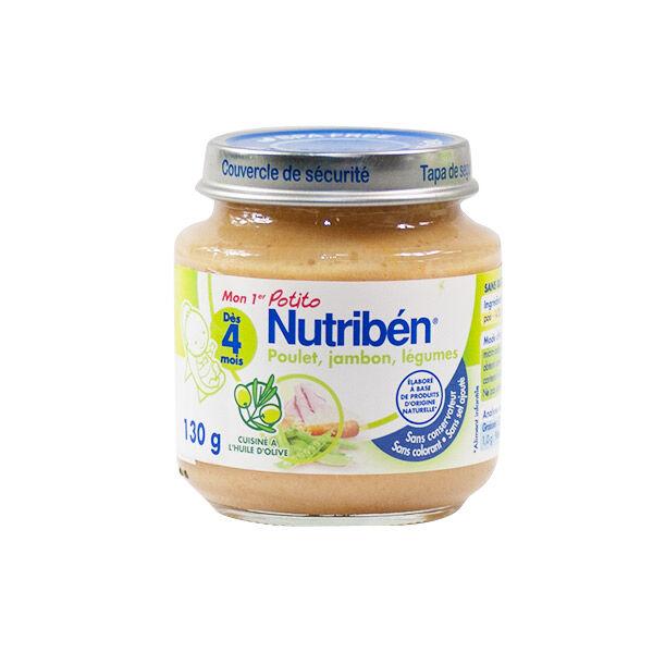 Nutriben Potitos Poulet Jambon Légume 130g
