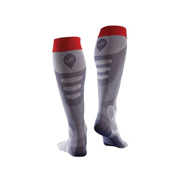 Thuasne Sport Chaussettes Recup Up' Taille L Rouge
