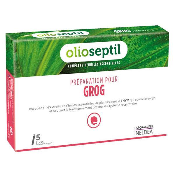 Ineldea Olioseptil Préparation pour Grog 5 sticks
