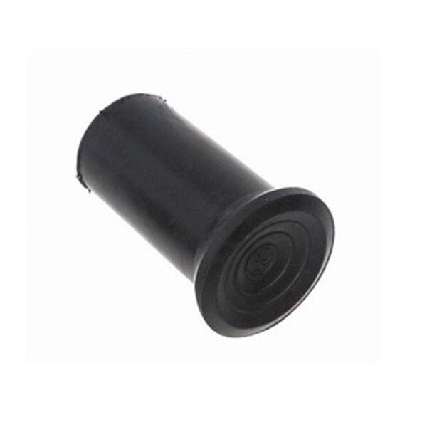 Embout de Canne Marche Bois 18 x 34 x 19-22mm Noir