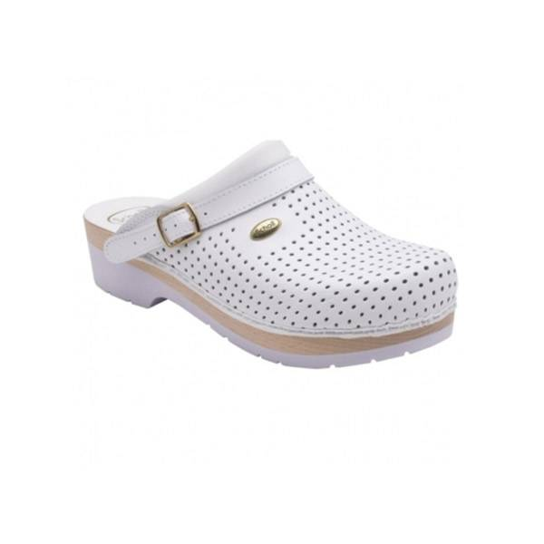 6397205 Scholl Sabot Silence Taille 41 Blanc