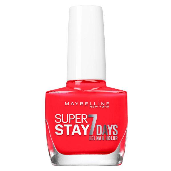 Maybelline New York Vernis à Ongles Superstay 7 Days N°493 Blood Orange 10ml