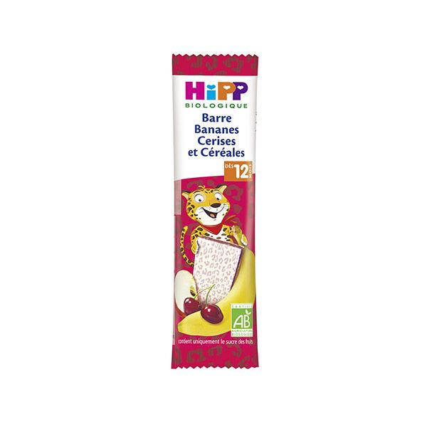Hipp Bio Barre Bananes Cerises et Céréales +12m 25g