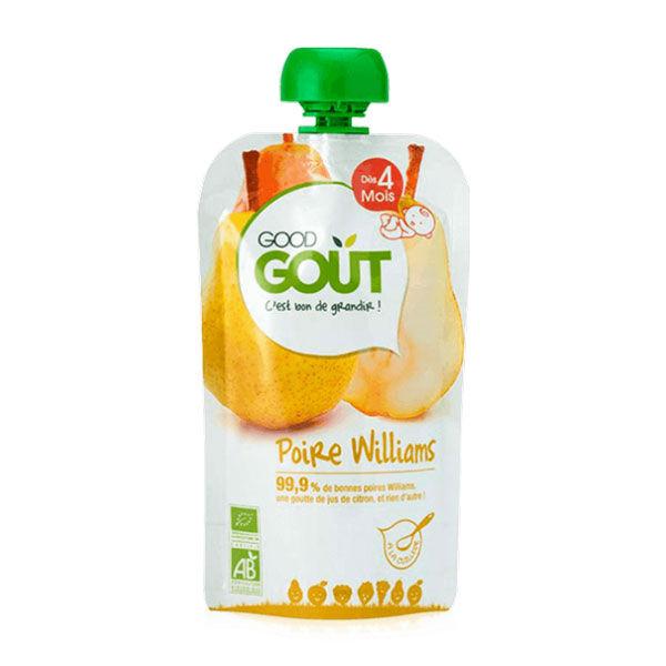 Good Gout Good Goût Gourde de Fruit Poire Williams dès 4m 120g