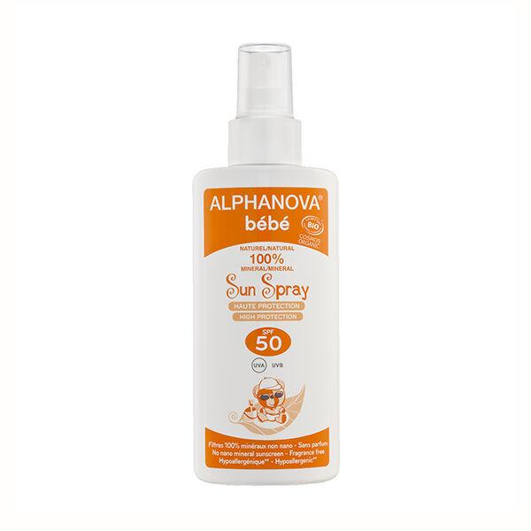 Alphanova Bébé Sun Spray Bio SPF50 125ml