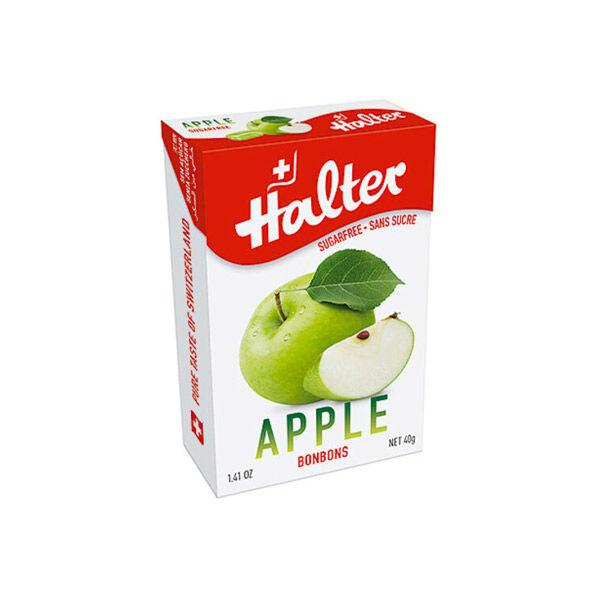 Halter Bonbon Suisse Sans Sucre Pomme 40g