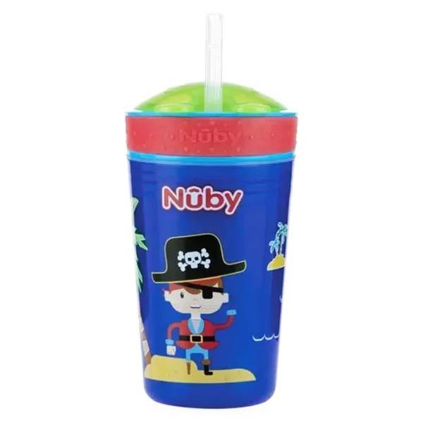 Nuby Gobelet Gourmand Pirate 270ml