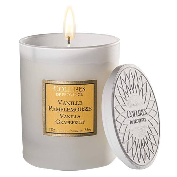 Collines de Provence Bougie Parfumée Vanille Pamplemousse 180g