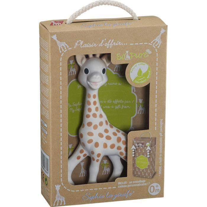 Sophie La Girafe + Box Personnalisable Offerte