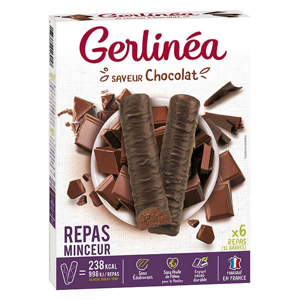 Gerlinéa Repas Minceur Barre Chocolat 12 unités