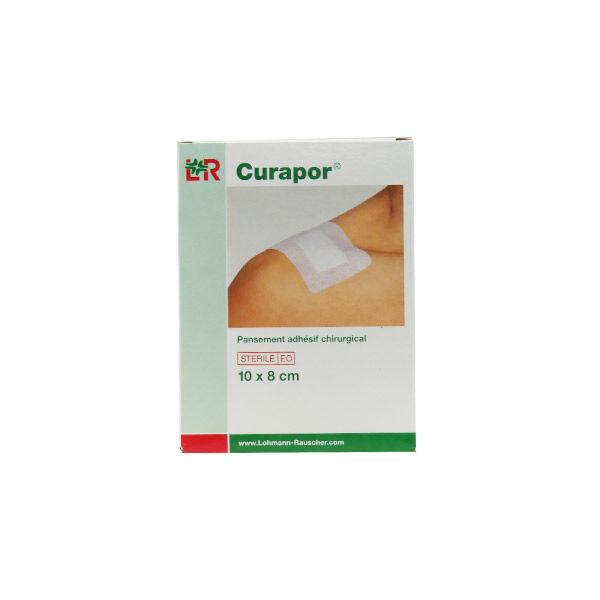 Lohmann & Rauscher L&R; Curapor Stérile Pansements Chirurgical 8cmx10cm Boite-10 Stérile