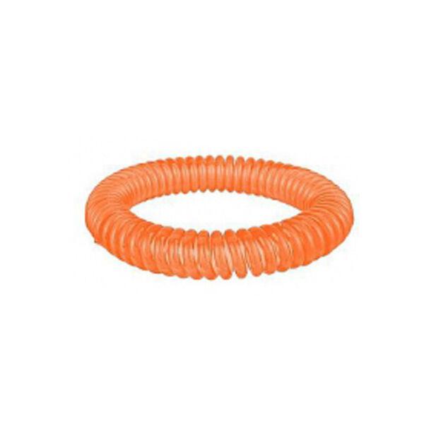 Bracelet Citronnelle à Ressort Silicone Orange