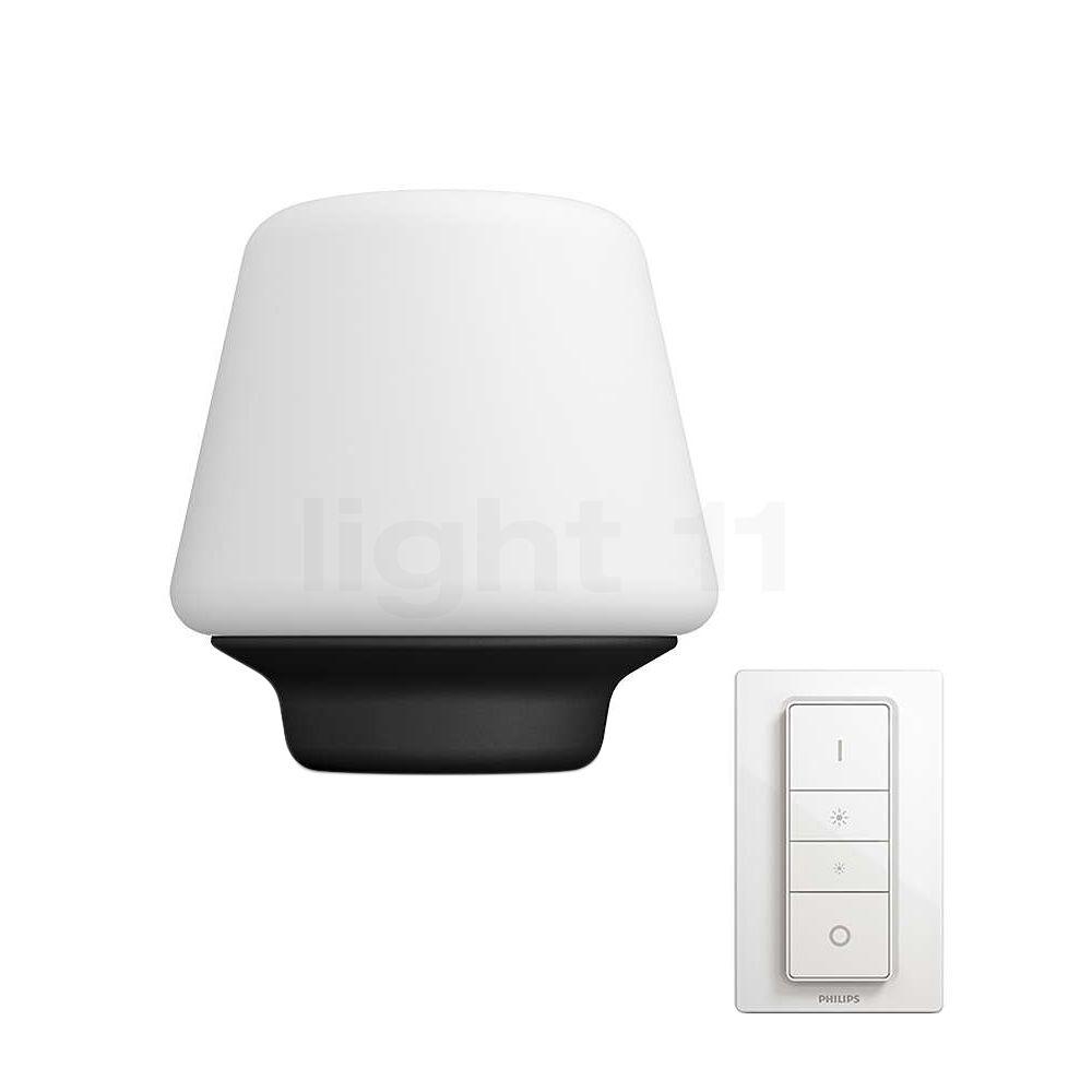 Philips Hue Wellness Lampe de table LED, blanc