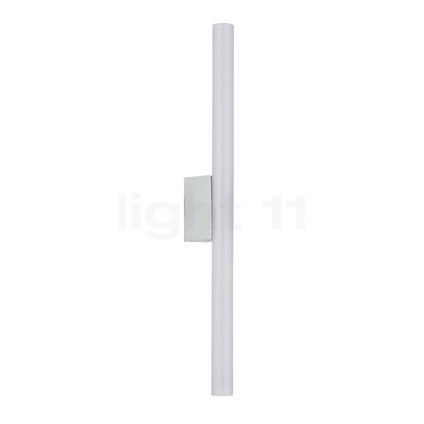 Top Light Lichtstange Fixation par pince sans ampoule, chrome brillant