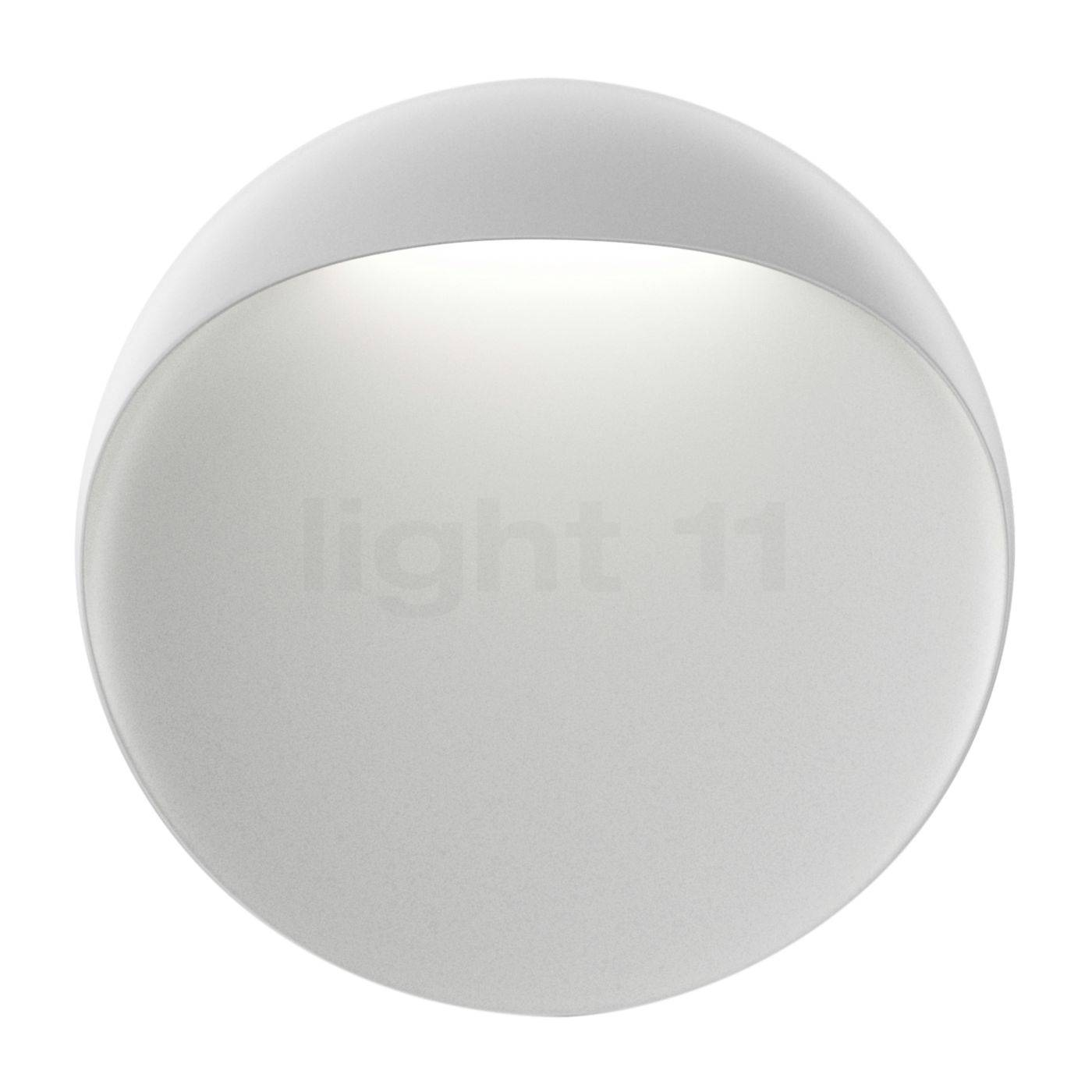 Louis Poulsen Flindt Applique LED, blanc, ø40 cm