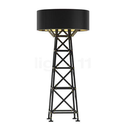 Moooi Construction Lamp M Lampadaire, noir mat