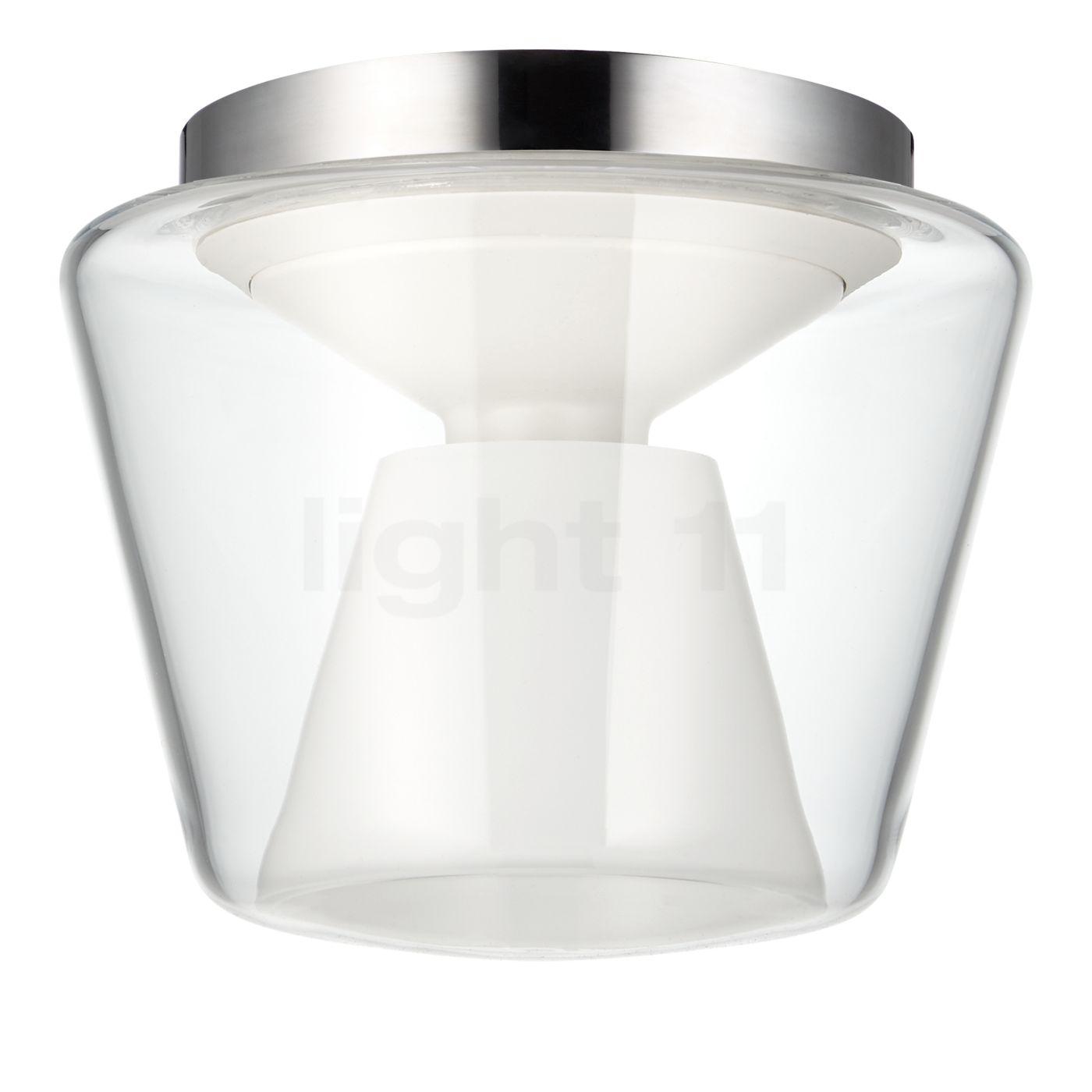 Serien Lighting Annex L 34 W Plafonnier LED, translucide clair/opale