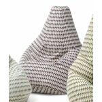 zanotta  ZANOTTA fauteuil anatomique SACCO TULIP (65902 - tissu Tulip)... par LeGuide.com Publicité
