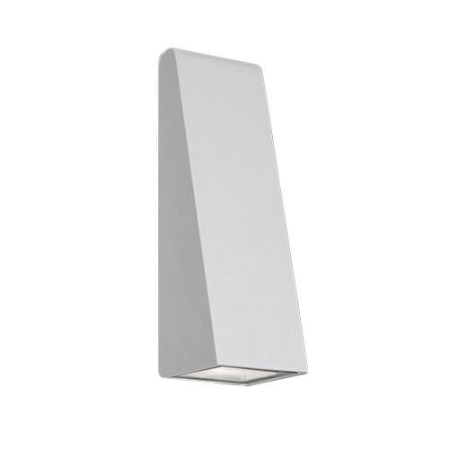 ARTEMIDE lampe murale applique pour extérieur CUNEO (Gris / Blanc - Aluminium et méthacrylate)