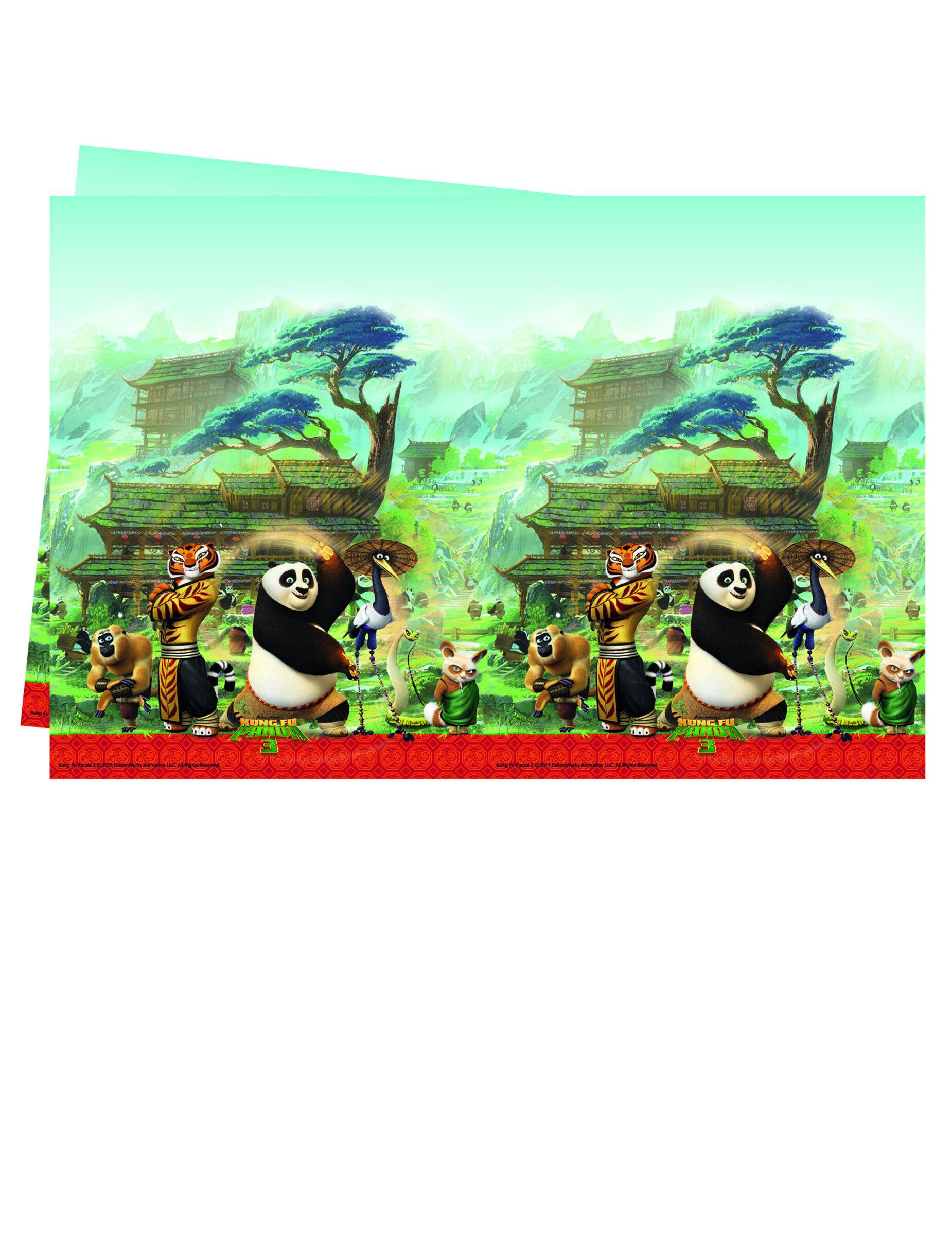 Deguisetoi Nappe en plastiqueKung Fu Panda 3 120 x 180 cm