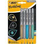 bic  BIC Marqueur permanent BIC Marking Assortiment - 5 Unités Marqueur... par LeGuide.com Publicité