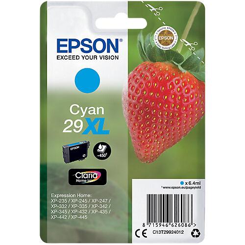 Epson Cartouche jet d'encre Epson D'origine 29XL Cyan C13T29924012