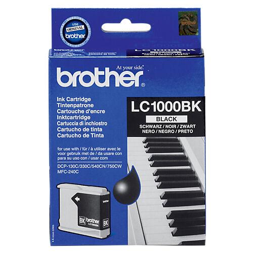 Brother Cartouche jet d'encre Brother D'origine LC1000BK Noir