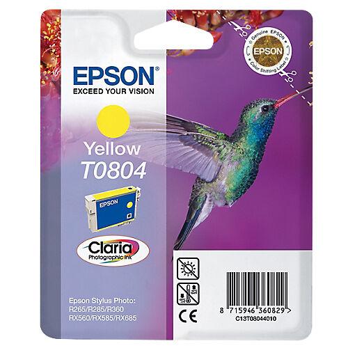 Epson Cartouche jet d'encre Epson D'origine T0804 Jaune C13T08044011