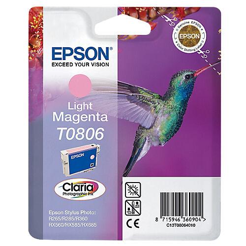 Epson Cartouche jet d'encre Epson D'origine T0806 Magenta C13T08064011