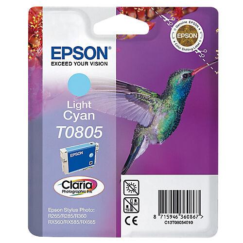 Epson Cartouche jet d'encre Epson D'origine T0805 Cyan C13T08054011