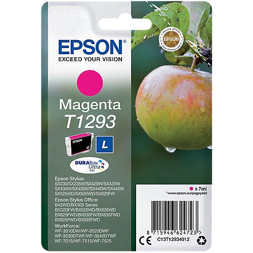 Epson Cartouche jet d'encre Epson D'origine T1293 Magenta C13T12934012