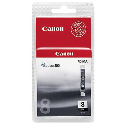 Canon Cartouche jet d'encre Canon D'origine CLI-8BK Noir
