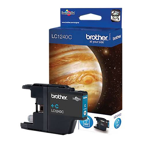 Brother Cartouche jet d'encre Brother D'origine LC1240C Cyan