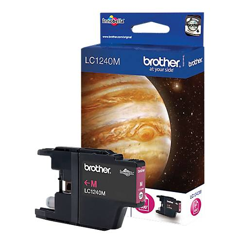 Brother Cartouche jet d'encre Brother D'origine LC1240M Magenta