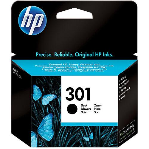 HP Cartouche jet d'encre HP D'origine 301 Noir CH561EE