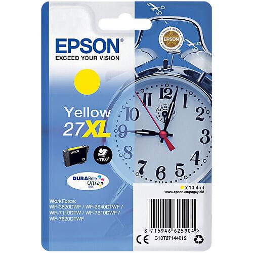 Epson Cartouche jet d'encre Epson D'origine 27XL Jaune C13T27144012
